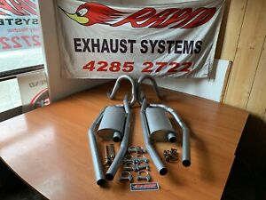 Holden HQ HJ HZ HX  SEDAN 2 INCH SYSTEM FROM EXTRACTORS with LUKEY MUFFLERS