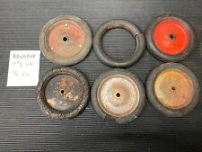 1920'S ORIGINAL KEYSTONE TIRES/WHEELS PRESSED STEEL TRUCKS