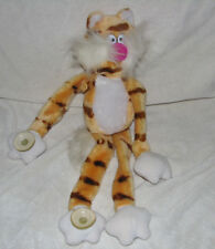 VTG RUSS BERRIE & CO STUFFED PLUSH KITTY CAT KITTEN TABBY TIGER SUCTION CUP PAWS