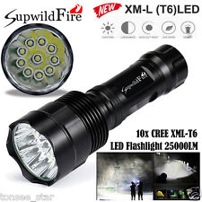 35000LM LED Taschenlampe 14x XM-L T6 5-Mode 18650 Torch Jagd Lampen Super hell