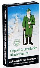 Crottendorfer Räucherkerzen 'Weihnachtlicher Weihrauch' Größe M (24 Kegel/Pkg)