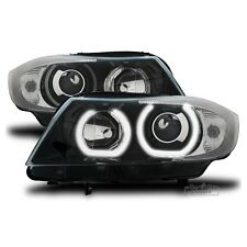 AuCo LED Highpower Angel Eyes Scheinwerfer M-Look passend für BMW 3er E90 E91