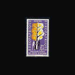 Ivory Coast, Sc #217, MNH, 1964, Europafrica, Industry, FFDAS8Z-C