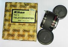 Nikon F TC-1 Converter  #176609 ........... Minty w/Box