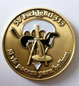 Coin Bundeswehr 5./Fallschirmjägerbataillon 313 Si vis pacem para bellum