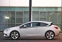 Opel Astra Motorsport seite pin streifen grafik aufkleber seitenstreifen