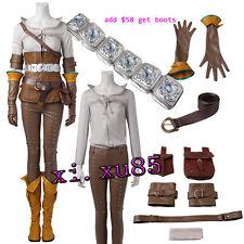 NEW Original The Witcher 3: Wild Hunt Hunt Cirilla Fiona Ciri Full Set Customize