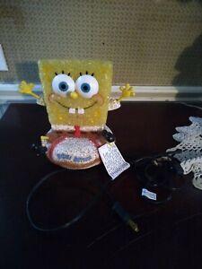 Nickelodeon Spongebob Bikini Bottom Plastic Resin Electric Desk Lamp Night Light