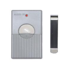Access 10 Digit Codes Dip Switch Remote Garage Gate Opener 300Mhz