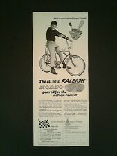 1967 Raleigh 5 Speed Twinshirt Rodeo 3+2 Bicylcle Sports Boys Bike Toy Promo Ad