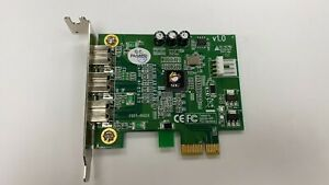 SIIG NN-FW0012-S1 3-Port DP FireWire 800 PCIe Adapter Interface Card
