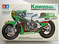 Tamiya Vintage 1:12 Scale Kawasaki KR500 GP Racer Model Kit New Kork Ballington