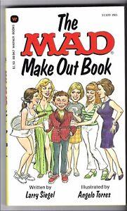 SIEGEL MAD MAKE-OUT PAPERBACK BOOK 1st PRINTING MAGAZINE WARNER 1979
