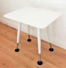 Herman Miller Table, Desk, White designer occasional table 75 cm x 60 cm