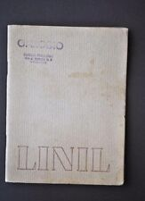 Cataloghi Stoffa Tessuti Moda Modelli Vestiti Vestiario Linil Lino 1950