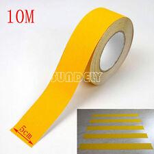 "Secuda Yellow 2"" Safety Grip Anti Slip Stair Tread Tape 10M Roll Self Adhesive"