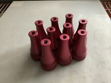 New listing Pok 1.5In Nst Fire Hose Nozzle Red 0/ 3/8In - Qty 10