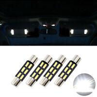 4 ampoules à LED blanc navette 29 31 mm pour miroir de courtoisie / pare soleil