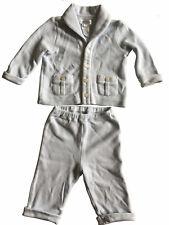 RALPH LAUREN  2-Piece Suit for Baby Boy 6 Months Light Blue Cotton Jacket/Pants