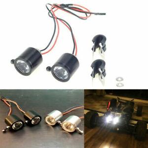 2*3W Searchlight LED Light for 1/10 RC Crawler Car NEWTRX4 SCX10 D90 Truck