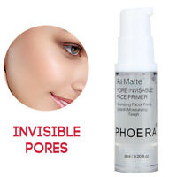PHOERA Face Primer Oil-Control Whitening Pores Blemish Covering Makeup Base Cool