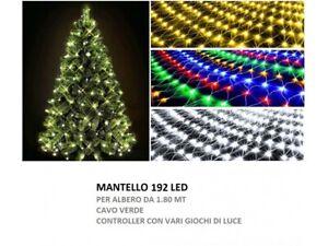 Bianco Caldo Salcar Luce per albero di Natale 350 LEDs Interni ed Esterni Adatta 2m - 5m Albero 3m x 10 radici Catena Luminosa lluminazione Natalizia per Albero di Natale