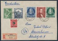 Berlin Philharmonie Lortzing Freiheitsglocke Einschreiben 1951 Mannheim (S14760)