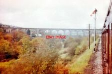 PHOTO  1962 MAESYCWMMER VIADUCT TAKEN FROM A NEWPORT-BRECON TRAIN SHORTLY BEFORE