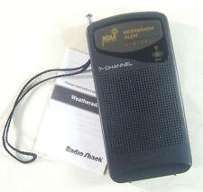 Vintage Radio Shack 12-246 7 Channel Digital Weatheradio Alert
