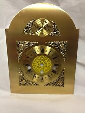 Metal Arched Clock Dial For A Hermle 341 SERIES Mechanical Movement (C-508)
