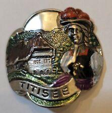 Titisee, Germany Stocknagel, Hiking Medallion, Badge, Shield, Pin, GP14-6