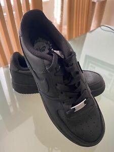Nike Air Force 1 Black Size 4 UK