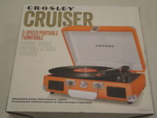 Crosley Cruiser Retro Vinyl Record Player Turntable - Orange