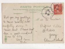 Miss Le Couteur Prospect Villas St Peters Jersey 1908 708a