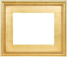 "12""x12"" CLASSIC MODERN PICTURE PAINTING FRAME PLEIN AIR WOOD GOLD 3"" WIDE 12x12"""