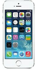 Apple iPhone 5s - 32GB - Silver (Unlocked) A1453 (CDMA + GSM) Good