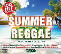 Various Artists : Summer Reggae CD Box Set 5 discs (2017) ***NEW*** Great Value