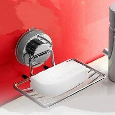 Stainless Steel Bathroom Shower Soap Box Dish Storage Plate Tray Holder Basket