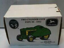 """1992 ERTL~John Deere """"620"""" Orchard Tractor 1957-1960~1:16 Scale Diecast~S#5678"""
