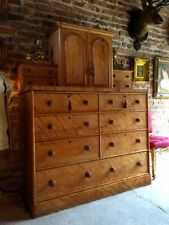 Chest of Drawers Birch Victorian Antique Furniture