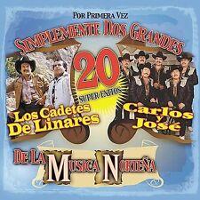 Carlos Y Jose : Simplemente Dos Grandes De La Musica Nor CD