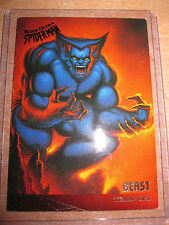 CARTE MARVEL BEAST TEAM UPS 1995 N°109 FLEER ULTRA SPIDER-MAN MINT