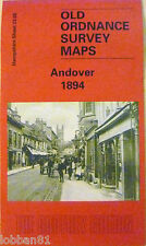 OLD ORDNANCE SURVEY  MAP ANDOVER HAMPSHIRE  1894 SHEET 23.08 NEW