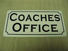 COACHES OFFICE Sign 4 Baseball Football Sports High School College Club Staff