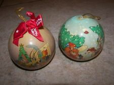 2  Looney Tunes 1995 Christmas Ornaments
