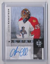 11-12 2011-12 Ultimate Collection Ultimate Signature #USJM Jacob Markstrom 13-14