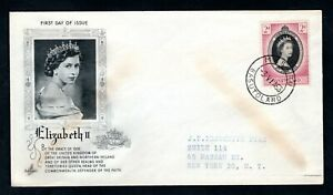 Basutoland - 1953 QE2 Coronation Illustrated First Day Cover