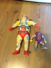 Vintage 1991  TMNT Krang's Android Body 11 in Mirage Studios Playmates Toys Plus