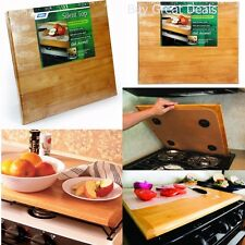Stove Top Cover Stovetop Counter Cutting Mat RV Trailer Burner Cover Kitchen Oak