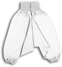 Pantaloni bianchi per bambine dai 2 ai 16 anni 100% Cotone